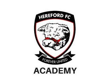 Banner featuring Hereford Football Club logo.