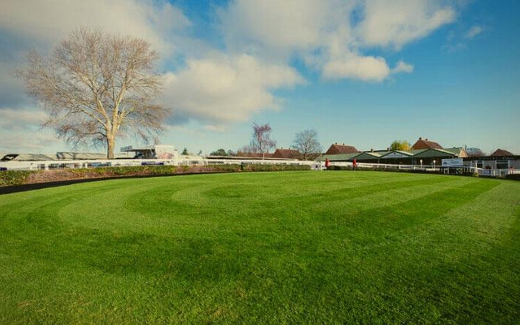 Parade Ring at the Hereford Racecourse.