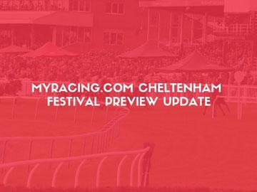 Promotional banner for news article about cheltenham festival.